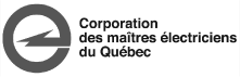 logo corporation maitres electriciens quebec | Electricien Jean Provost